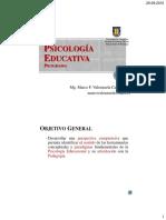 Psicologia Educacional UdeC (2015)