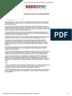 10-01-16 Entrega Gobernadora Pavlovich obras de pavimentación en Ciudad Obregón - Kiosco Mayor