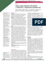 26511996_ Tocilizumab in Early Progressive Rheumatoid Arthritis_ FUNCTION, A Randomised Controlled Trial