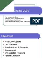 Influenza Update 2009 100109