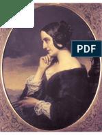 Marie d'Agoult 1843, Ölgemälde Von Henri Lehmann
