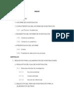 Estructura Técnica Del Informe de Investigación en CCEE-USAC