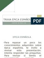 Trivia Épica Española