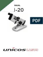 Lm 20 User Manual