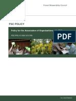 FSC-POL-01-004 V2-0 en Policy for Association