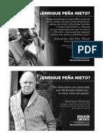 Opiniones públicas sobre Peña Nieto