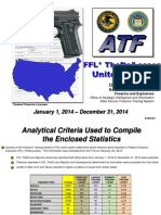 2014 Summary Firearms Reported Lost and Stolen