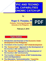 09 S&T Capabilities and Economic Catch-Up - Dr. Roger D. Posadas