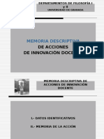 2008 Presentacion Memoria