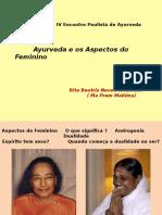 Ayurveda e Os Aspectos Do Feminino