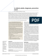 Delirium in Elderly Adults