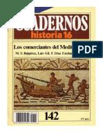 Cuadernos Historia 16 [Serie 1985], Nº 142 Los Comerciantes Del Mediterráneo (300 Cuadernos)
