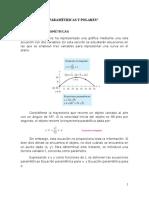 Curvas Parametricas y Polares