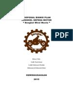 Proposal Bisnis Plan Bengkel Motor