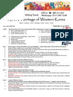 Korea S7KPJ-AK 7D6N Heritage Western Korea