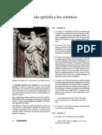 Segunda Epístola a Los Corintios