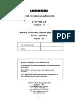 Manual de operaciones LTM 1050-3.1