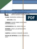 Album de Estaciones Metereológicas