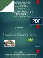 Tema 1 Principios Básicos de Inversión y Diversificación