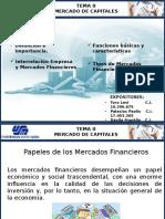 Tema 2 Papel de Los Mercados Financieros