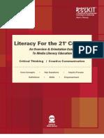 Digital-Media Literacy Framework-For 21stcentury