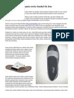 Trik Bisnis Toko Sepatu serta Sandal On line