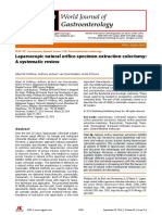 Laparoscopic Natural Orifice Specimen Extraction-colectomy_A Systematic Review