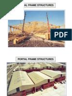 3 Pinned Portal Frames