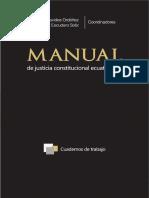 Manual de Justicia Constitucional