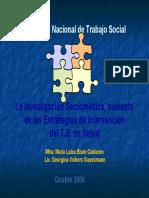 Investigacion Sociomedica
