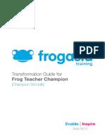 Frog Manual