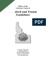 Landlord Tenant Idaho