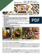 Korea 8D6N Food Exploration KJSF-KE-ACT
