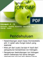 Referat EM - Anion Gap