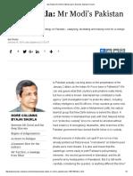 Ajai Shukla_ Mr Modi's Pakistan Plan _ Business Standard Column