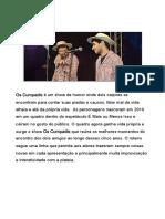 Show de Humor Os Cumpadis - Release