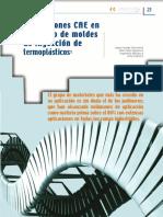 Aplicaciones CAE en El Diseño de Moldes de Inyección de Termoplásticos