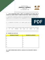 Guia de Estudio Ciencias 3 Quimica Bim. III