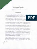 DECRETO PRESIDENCIAL 1208 (28-jun-2012)