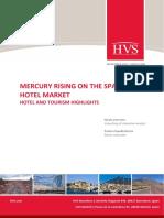 HVS - Mercury Rising on the Spanish Hotel Market - Hotel and Tourism Highlights