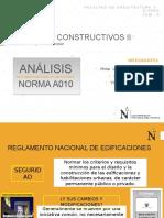 Análisis de la Norma A010 RNE