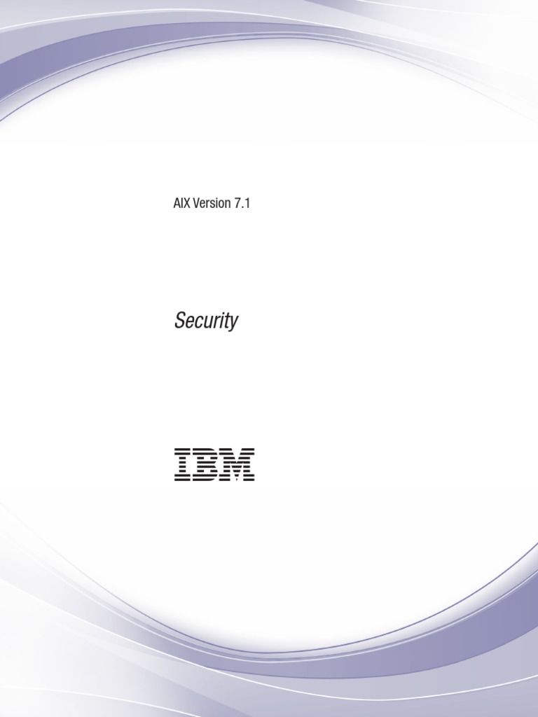 AIX71 Security PDF Computer File