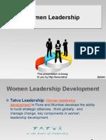Women Leadership Development