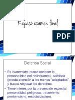 Repaso Corrientes Política Criminoógica