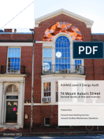 74 Mount Auburn Street Energy Audit Report