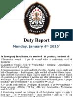 Duty Report Senin (2)