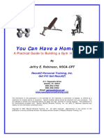 You Can Have a Home Gym