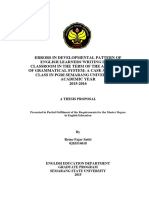 Retno Fajar Satiti Thesis Proposal 0203514018