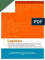 Lap. Identifikasi Permasalahan Penyerapan Anggaran Tahun 2011