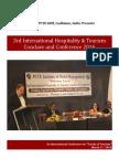 3rd International Hospitality & Tourism Conclave